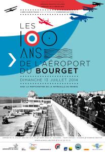 100 ans de l'Aéroport du Bourget ( fête le 13 / 7 /2014)