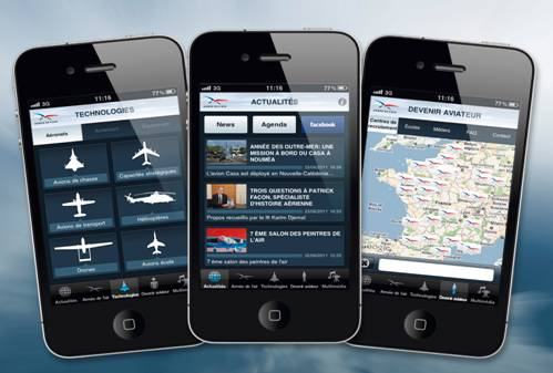 L'APPLICATION « ARMEE DE L'AIR » SUR IPHONE