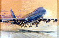 Gérard Weygand, Boeing 747.