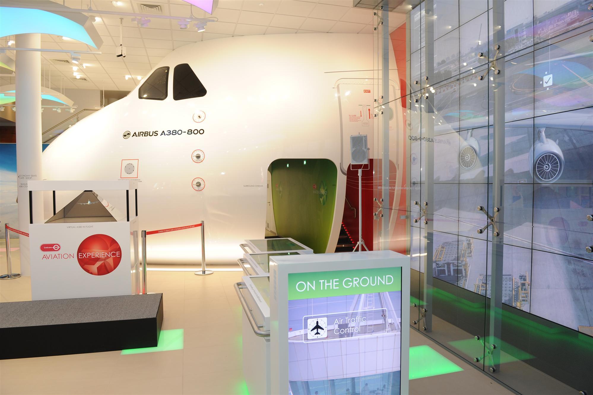 Emirates à Londres : Simulateurs pour les jeunes de 777 et A 380