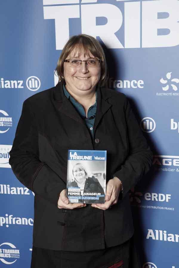 Nathalie Ducombeau, directrice de la Qualité Airbus, élue « Femme Manager de l'année »