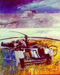 Claude Mazier, peintre de l'air