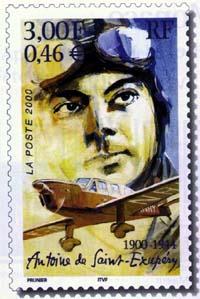 Un timbre Saint Ex !