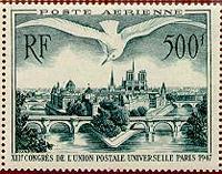 500f poste aérienne France