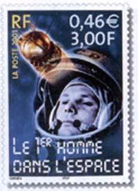 1er Homme dans l'espace