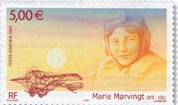 Marie Marvingt 5 € La Poste France