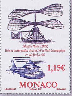 Centenaire de l'Hélicoptère. Monaco.