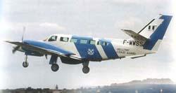 Le F 406 de Reims Aviation en Grèce