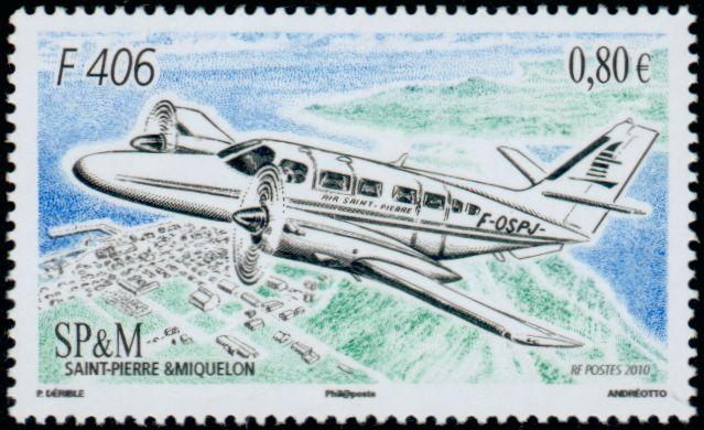 Reims Aviation F 406 Saint Pierre et Miquelon
