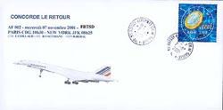 Concorde... Retour à New-York