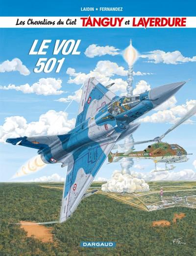 BD Le Vol 501 (Tanguy et Laverdure) de Laidin et Fernandez