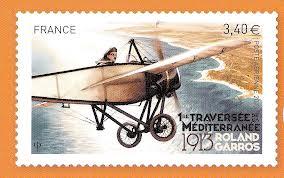 Roland Garros Anniversaire traversée Méditerranée en 1913