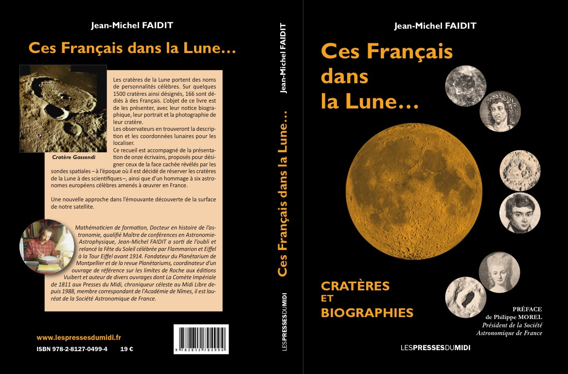 Ces Français dans la Lune : Cratères qui portent leurs noms …