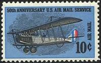 Naissance de la poste aérienne américaine