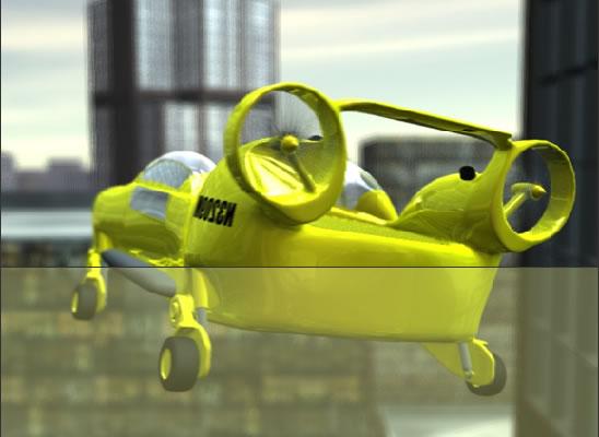 Une nouvelle voiture-avion ou hélico pour la ville ?