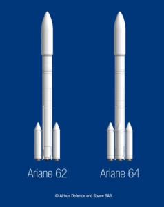 Ariane 62 et 64