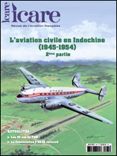 ICARE N° 245. L'aviation Civile en Indochine (Partie 2, 1952 / 1954).