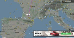 COVID-19 : Presque tous les vols supprimés. Le ciel est vide ! (30/03/20)