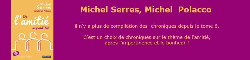 De l'Amitié (Michel Serres, Michel Polacco)