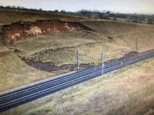 TGV Déraille près de Strasbourg : Glissement de terrain. 5/03/20.