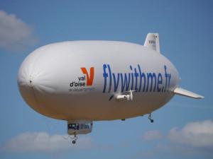 Airship de retour à Pontoise le 2 juin 2014