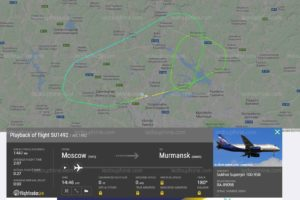 Sukhoï d'Aéroflot en feu à Moscou : 41 morts. (5/05/19)