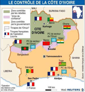 LICORNE en Côte d'Ivoire : La Fin
