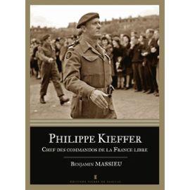 Philippe Kieffer, Chef des commandos de la France Libre